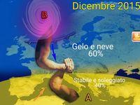 METEO Italia : INVERNO in attesa dei botti di fine anno, fino a Sabato sole e nebbie poi Dicembre di NEVE