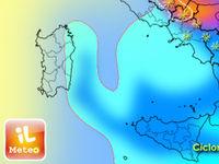METEO: previsioni per oggi Venerdì 27 con il CICLONE. Neve, pioggia e freddo al Centro-Sud