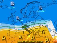Meteo ITALIA: Giugno, TENDENZA a lungo termine, tra TEMPORALI e ALTA pressione