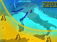 METEO: previsione di NEVE anche in Appennino, venerdì-pomeriggio-sera. Fino a 25 cm