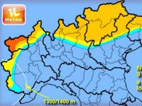 METEO - previsioni di altra NEVE tra il 9 e il 10 febbraio. Fino a 40/50 cm