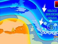 Meteo: PROSSIMA SETTIMANA, Lunedì ultime Piogge, poi IRRUZIONE GELIDA e CROLLO delle TEMPERATURE. La TENDENZA
