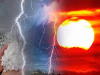 Meteo: PROSSIME ORE, ITALIA al CALDO, entro STASERA ATTENZIONE a Violenti TEMPORALI con GRANDINE GROSSA