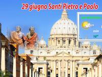 ROMA / festività dei Santi Pietro e Paolo con TANTO sole. Clima ESTIVO!
