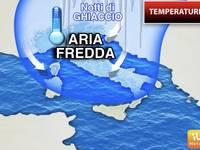TEMPERATURE: Aria Fredda, tornano le Notti di GHIACCIO, ma per poco tempo. Ecco Cosa sta per accadere e perché