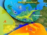 Meteo WEEKEND: caldo AFRICANO al CENTRO-SUD, temporali al NORD [VIDEO]