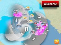 Meteo: WEEKEND, da Venerdì Violento Ciclone Punta l'Italia. Sabato e Domenica con FORTE MALTEMPO. I Dettagli