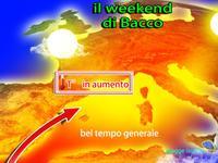 METEO WEEKEND, sole, cielo sereno e caldo sull'Italia!