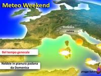 METEO / Weekend con l'alta pressione, sole e anche nebbia! [VIDEO]