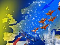 METEO: il NATALE sarà una CALAMITA di NEVE sull'Italia. GELO causato dell'allarme strat-warming!