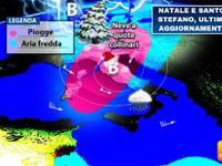 Meteo: NATALE e SANTO STEFANO, quest'anno potrebbe tornare la NEVE. Ecco le ultime novità
