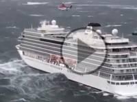 DIRETTA/ METEO VIDEO URGENTE: NAVE in AVARIA in Norvegia, 1300 passeggeri in PERICOLO [Difficili Soccorsi]