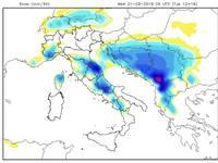 METEO: NEVICA in Piemonte, Ponente Ligure, al CentroSud e sulle coste fino ad Ancona [VIDEO]