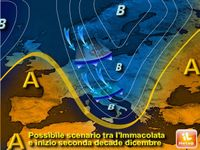NATALE: le previsioni METEO per Dicembre. Alta pressione calda o GELO e NEVE siberiani fino a Capodanno e Befana?