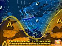 NATALE: previsioni meteo di GELO e la NEVE, da Immacolata a CAPODANNO