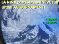 Meteo ITALIA / NEVE, sarà l'anno GIUSTO? Ecco come potrebbe incidere LA NINA