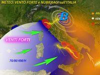 Meteo » ITALIA SPAZZATA dal VENTO, raffiche FORTISSIME oltre i 100 km/h e NUBIFRAGI. Le PREVISIONI [MAPPE]