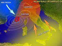 Meteo ITALIA, weekend di FORTE MALTEMPO, rischio NUBIFRAGI. Fino a 100 mm in LIGURIA [MAPPE]