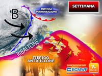 Meteo: Settimana in Avvio con Tiepido Anticiclone, MA da Giovedì Ribaltone con Intensa Perturbazione