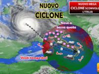 Meteo: da Martedì 29 nuovo MEGA CICLONE sconvolgerà l'ITALIA e sarà ancora più FORTE. Ecco le CONSEGUENZE