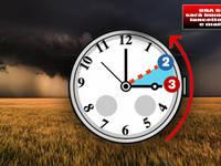 ORA SOLARE: il ritorno tra Sabato e Domenica. Sarà buio pesto, tra lancette indietro e maltempo