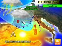 Meteo ITALIA, grandi NOVITA' per il MESE di OTTOBRE 2016. Anticiclone alla RISCOSSA?