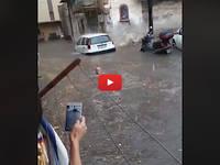 Meteo CRONACA VIDEO: Palermo, ALLUVIONE LAMPO, 2 MORTI. TUTTI i VIDEO con la città DEVASTATA