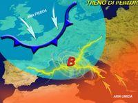 METEO: ecco Panta Rei, Attacco di PERTURBAZIONI sull'Italia, Neve, Pioggia, Vento per 7 giorni [VIDEO]