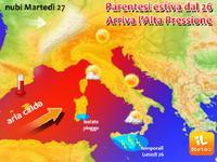 METEO » estate SETTEMBRINA in arrivo, qualche temporale ancora in Sicilia [VIDEO]