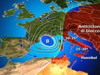 Meteo: dopo il caldo, il 2 aprile PASQUETTA con rischio Alluvione al Nordovest [ANALISI]