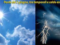 METEO / 2-3-4-5 Giugno, tra Temporali e Sole estivo! Analisi a MEDIO TERMINE