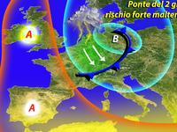 METEO / il ciclone Valchirie INCOMBE sul Ponte del 2 Giugno!
