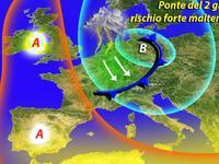 METEO: il ciclone Valchirie INCOMBE sul Ponte del 2 Giugno! [VIDEO]
