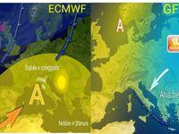 METEO ITALIA: ponte dell'Immacolata con sole e nebbia o NEVE e GELO?