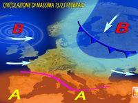 METEO, le previsioni per fine FEBBRAIO e MARZO.  Gelo e NEVE? (MAPPE)