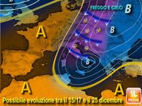 METEO: NATALE col caldo ANTICICLONE o NEVE + Gelo dall'Immacolata fino a CAPODANNO? [VIDEO]
