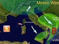 WEEKEND: Italia con GELO al Nord, vento fortissimo di Maestrale al Centro-Sud [VIDEO]