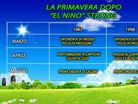 METEO / La Primavera dopo un El Nino strong, analisi e previsioni per il 2016