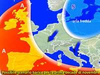Meteo ITALIA / Manovre FREDDE per la prima decade di NOVEMBRE? Analisi