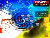 Meteo: PROSSIMA SETTIMANA, porta Atlantica Spalancata, nuovi CICLONI in Arrivo. Ecco le Previsioni aggiornate