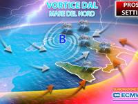 Meteo: PROSSIMA SETTIMANA, Lunedì un VORTICE dal MARE del NORD colpirà l'Italia. Ecco le CONSEGUENZE