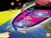 Meteo: PROSSIMA SETTIMANA, si SPALANCA la porta della BORA con raffiche a 100km/h. Giù di 10°C da Nord a Sud