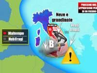 Meteo: CICLONE FREDDO in atto, Italia in apprensione. Ecco dove colpirà nelle PROSSIME ORE
