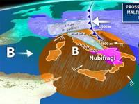 Meteo da Lunedì in poi AVVIO di SETTIMANA con maltempo con NEVE, freddo e NUBIFRAGI, ecco cosa succederà