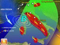 Meteo ITALIA: maltempo IN ARRIVO. Dove CADRANNO le PIOGGE più FORTI? Le PREVISIONI [MAPPE]