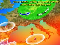 Meteo ITALIA | Analisi mese di LUGLIO, CALDO nella NORMA, temporali piuttosto FREQUENTI