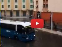Meteo Cronaca Video: ALLUVIONE LAMPO nei dintorni di ROMA