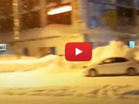 Meteo Cronaca DIRETTA VIDEO: SIBERIA, violenta TEMPESTA di NEVE investe KRASNOJARSK. Le immagini
