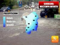 Meteo FOCUS SARDEGNA: piogge e temporali infiniti sull'isola
