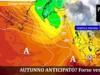 METEO: DRAMMATICA PROIEZIONE CENTRO AMERICANO, ultimi giorni di Agosto si PIOMBA in AUTUNNO